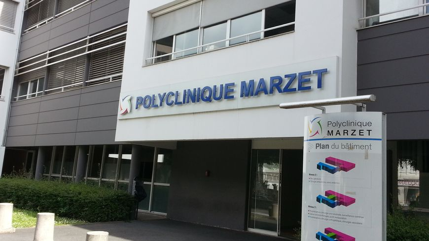 La polyclinique Marzet à Pau
