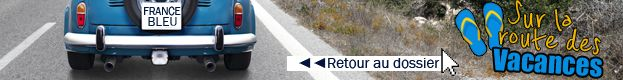 BANDEAU CLIQUABLE sur la route des vacances  - Fotolia.com