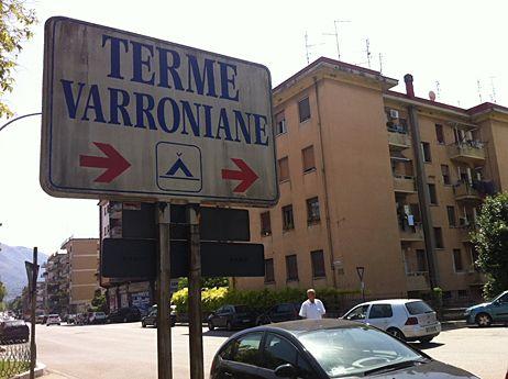 Le camping Terme Varroniane - David Di Giacomo / Radio France