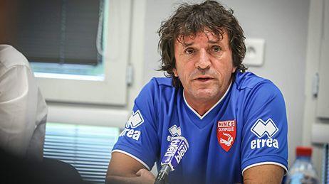 José Pasqualetti, nouvel entraîneur du Nîmes Olympique