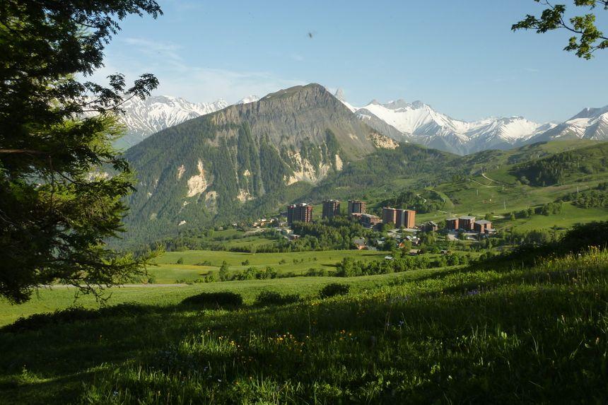 Le Corbier, station de montagne en Savoie, juin 2014.  - Stéphane Milhomme - Radio France