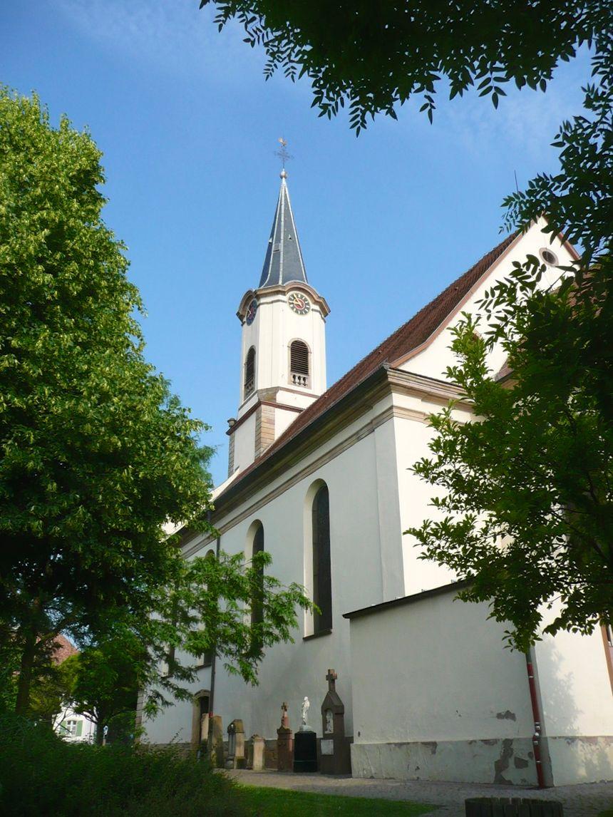 L'église St Maurice de Fegersheim - Radio France