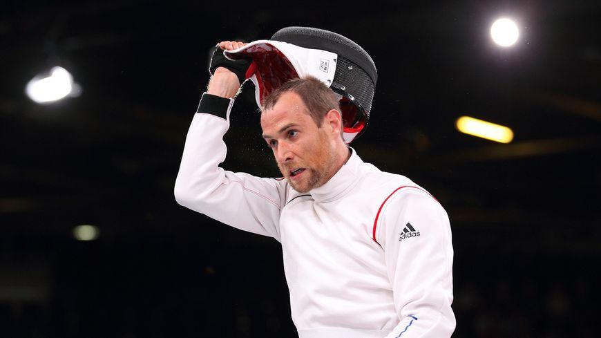 Romain Noble, médaillé d'argent aux Jeux paralympiques de Londres en 2012.