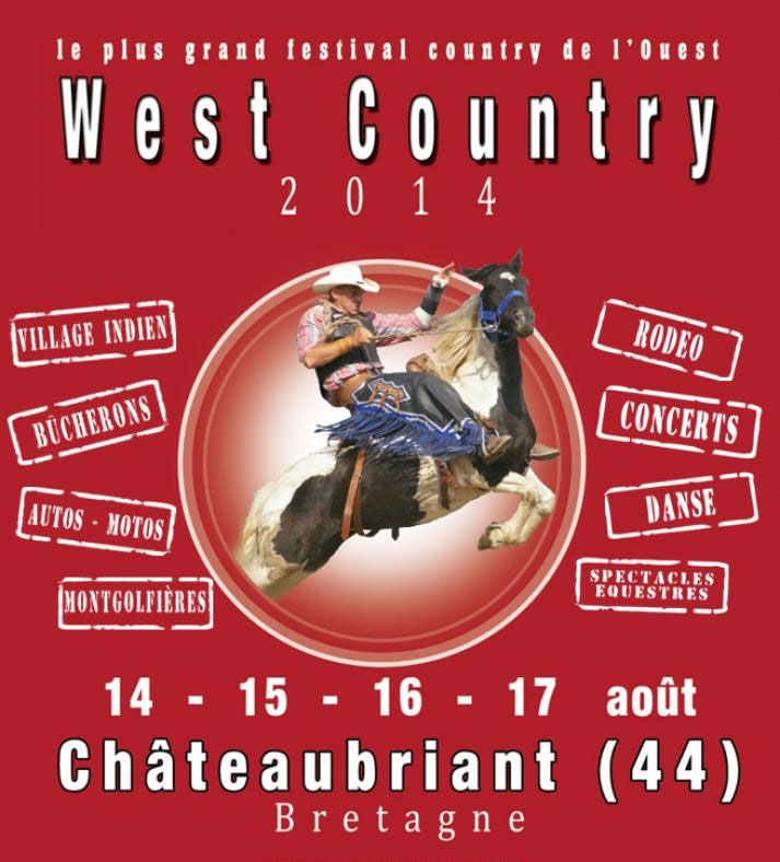 Affiche Festival West Country 2014