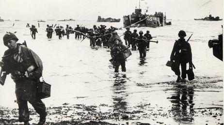 Le débarquement du 6 juin 1944.