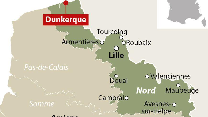 Un homme de 25 ans poignarde trois passants au hasard à Dunkerque