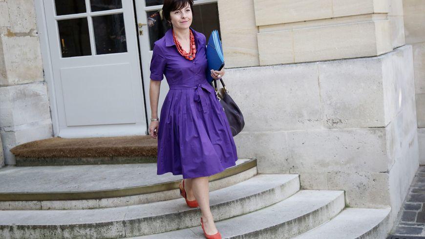Carole Delga, secrétaire d'Etat au commerce et à l'artisanat