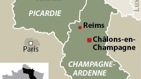 Clone of Fusion entre la Champagne-Ardenne et la Picardie - infographie idé