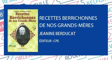 prix du livre berry : recettes berrichonnes de nos grands-mères - Radio France