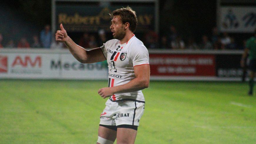 Vincent Clerc, ailier du Stade Toulousain.