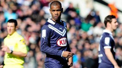 Diego Rolan, attaquant des Girondins de Bordeaux