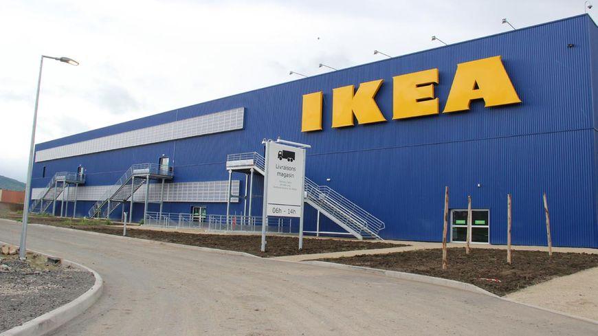 Un magasin Ikea (illustration)