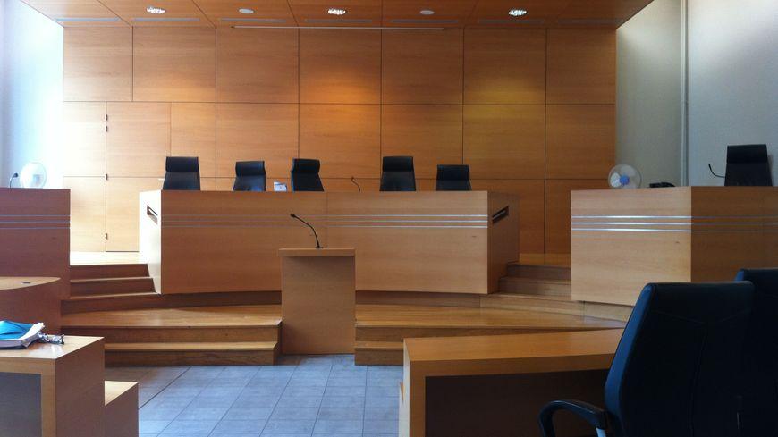 La salle d'audience du tribunal correctionnel de Poitiers.