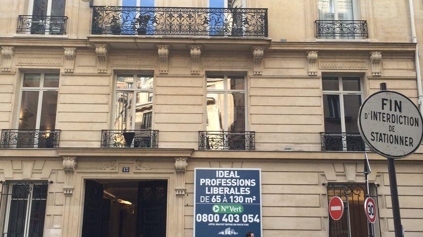 L'immeuble qui abritera le QG de campagne de Nicolas Sarkozy