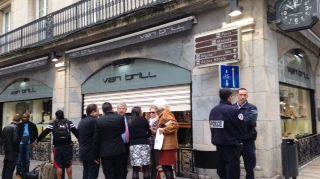 Cambriolage d'une bijouterie de Besançon