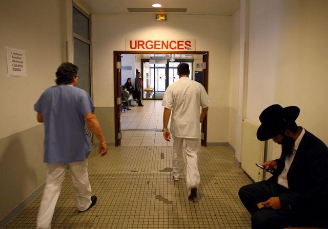 Urgences à l'Hôpital de la Pitié Sallepétrière