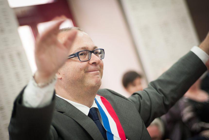 Damien Meslot élection mars 2014 Belfort - Maxppp