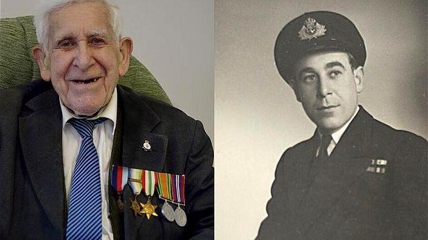 Bernard Jordan, 89 ans, a fugué de sa maison de retraite pour participer aux cérémonies du 70e anniversaire du DDay.