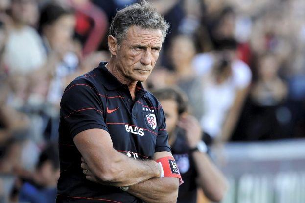Guy Novès entraîneur du Stade Toulousain - Maxppp