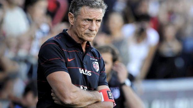 Guy Novès entraîneur du Stade Toulousain