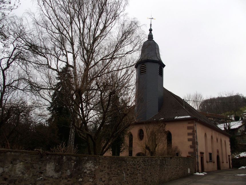 Ste Marie aux Mines, le temple - Radio France