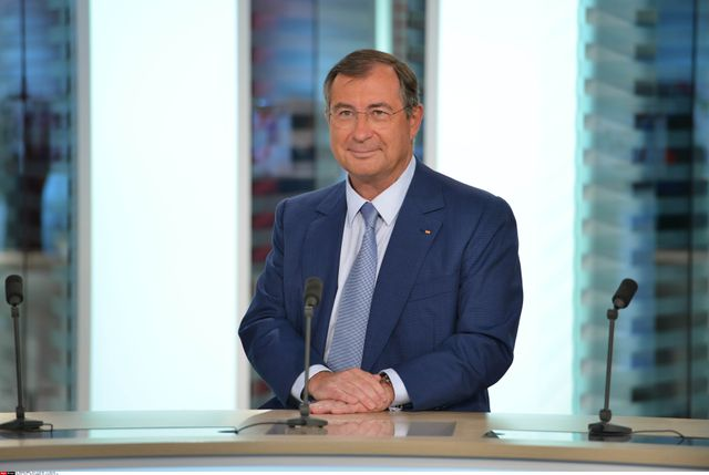 Martin Bouygues en 2014, sur le plateau de TF1