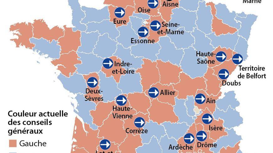 Enjeux des départementales 2015
