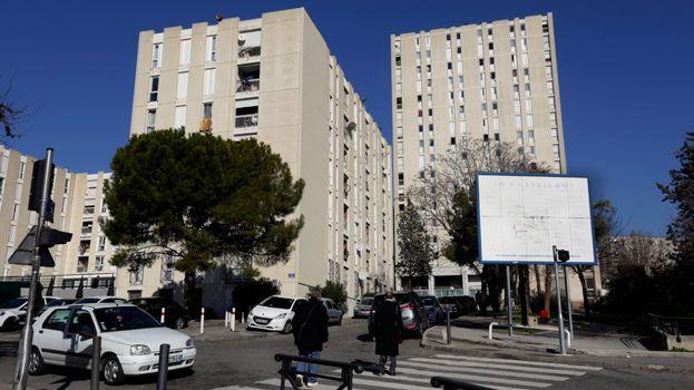 La cité de la Castellane dans le 16e arrondissement de Marseille
