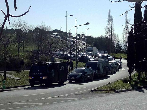 Le GIPN à la cité de la Castellane à Marseille - Laurent Grolée / Radio France