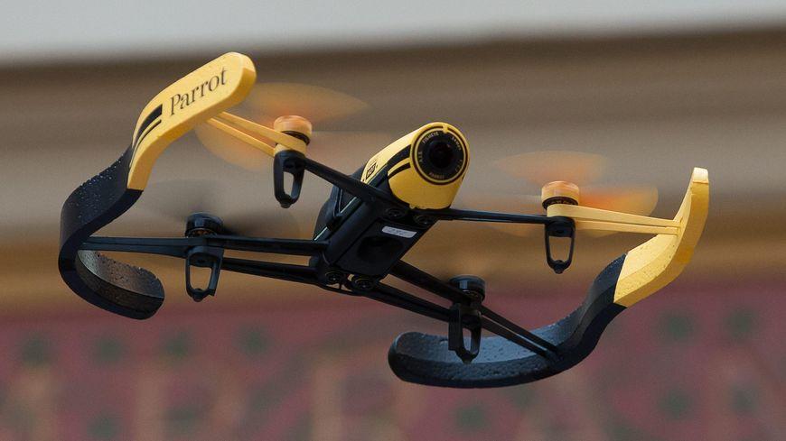 Un drone - illustration