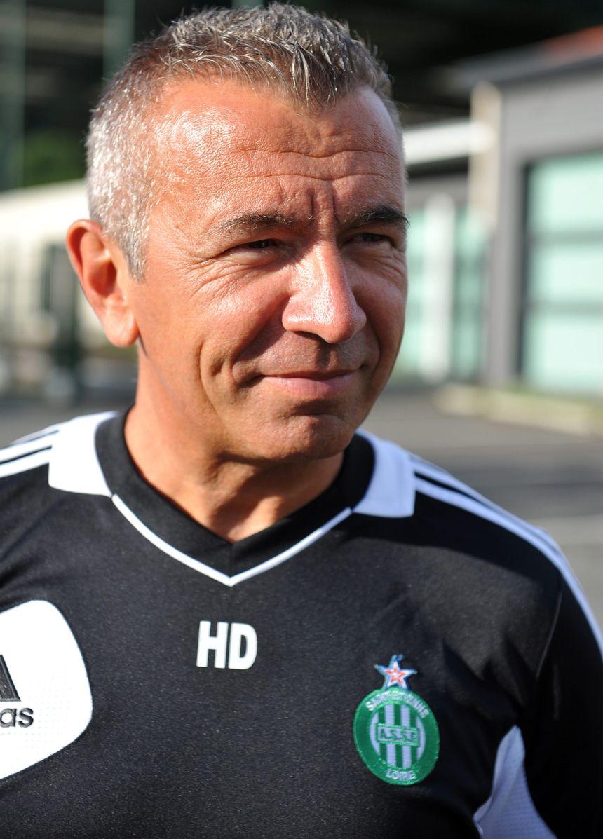 L'entraineur des Vertes Hervé Didier vise un 2e titre dans la compétition après 2011. - MaxPPP