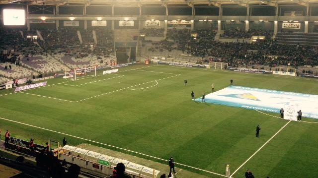 Stadium de Toulouse : les supporters au soutien du TFC
