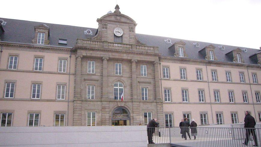 Le siège du Conseil général de la Haute-Vienne, à Limoges.