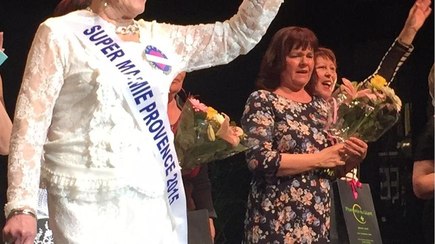 Marie Galiano élue Super Mamie Provence 2015