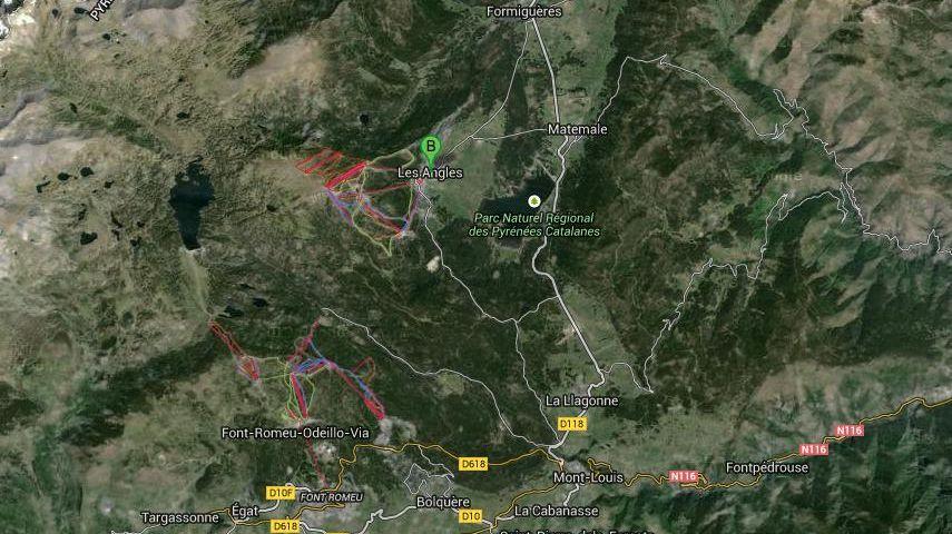 Les stations de Font-Romeu Pyrénées 2000, les Angles et Formiguères veulent être connectées entre elles.