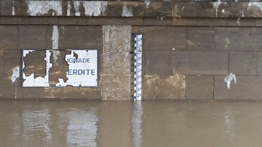 Inondations dans les Landes (illustration).