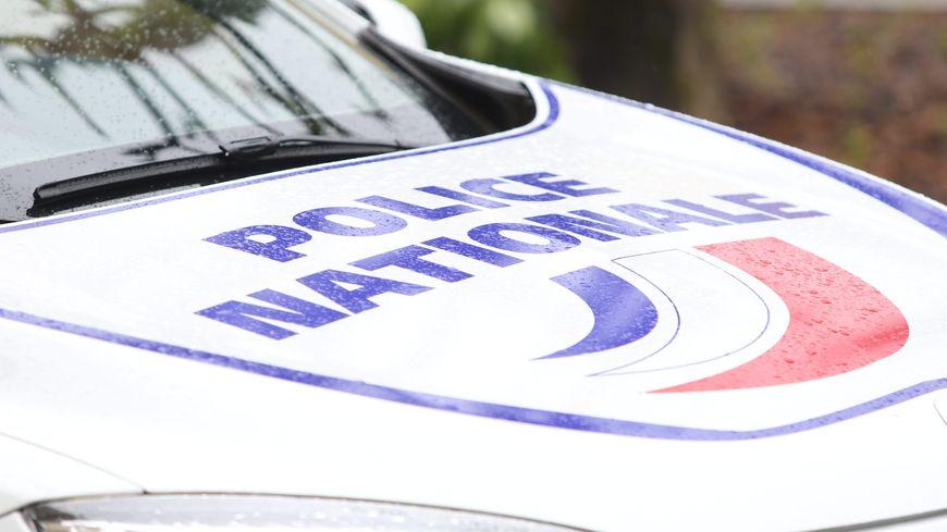 Une voiture de la police nationale. (image d'illustration)