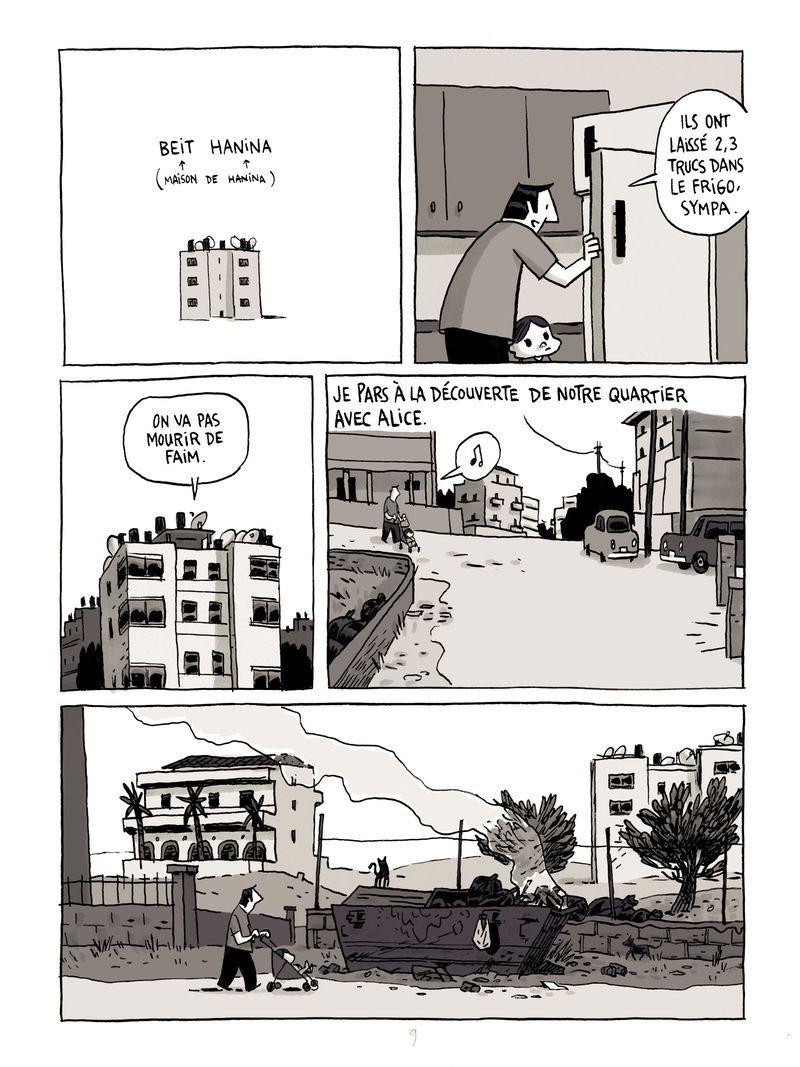 """extrait de la bande-dessinée """"Les chroniques de Jérusalem"""" (éditions Delcourt)"""