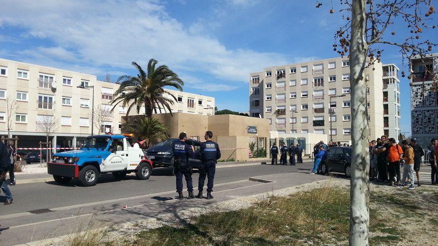 La cité Vernet-Salanque était sous haute surveillance, mercredi après la bagarre