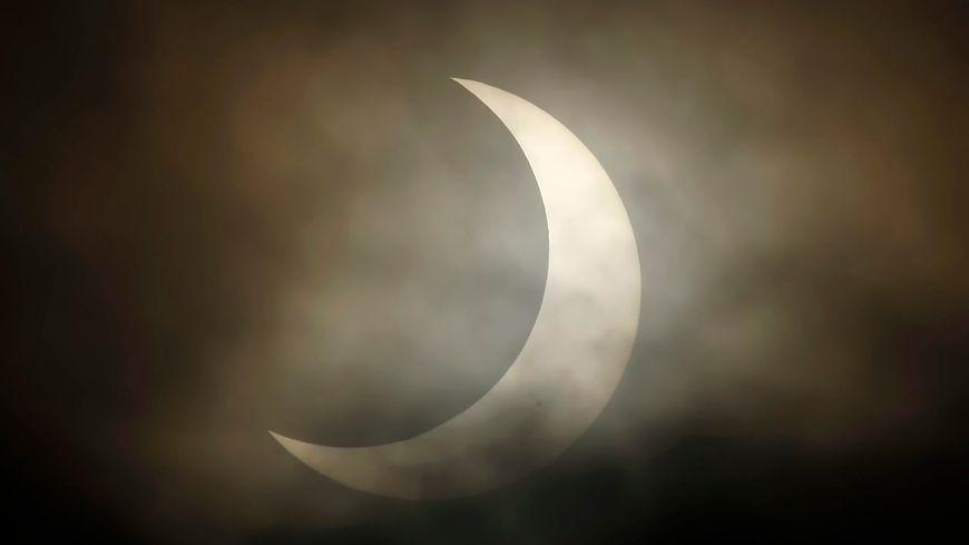 Eclipse solaire partielle