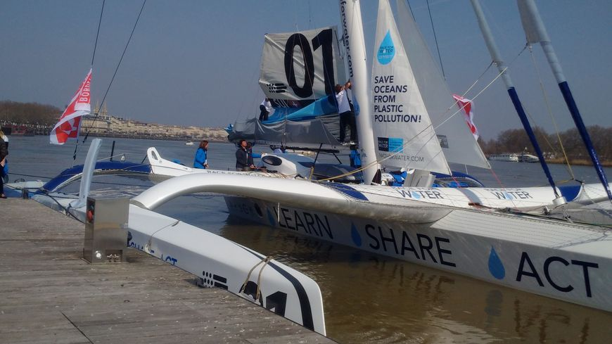 """Trimaran MOD70 Race for Water"" à Bordeaux"