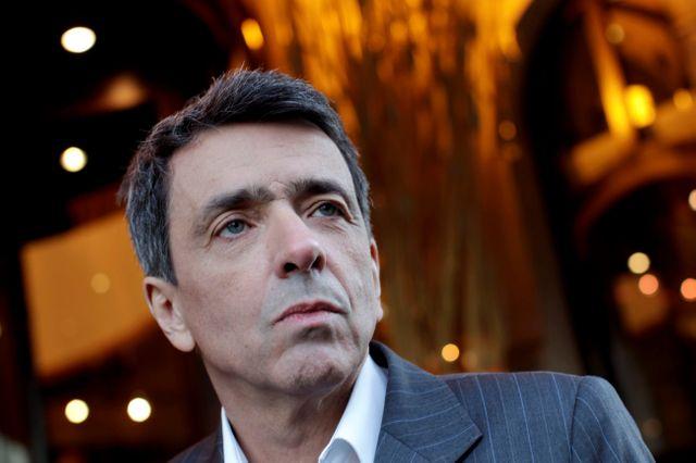 Paris le 06 01 2012. REGIS JAUFFRET POUR LA SORTIE DE SON LIVRE -CLAUSTRIA- SUR L'AFFAIRE FRITEL