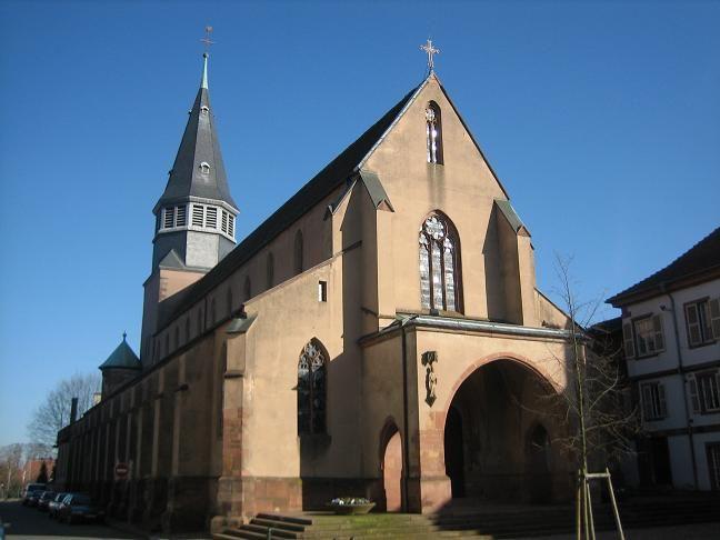 Eglise St-Nicolas Haguenau - Creative commons