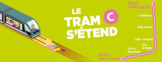 L'extension du tram C dans Bègles  - Radio France