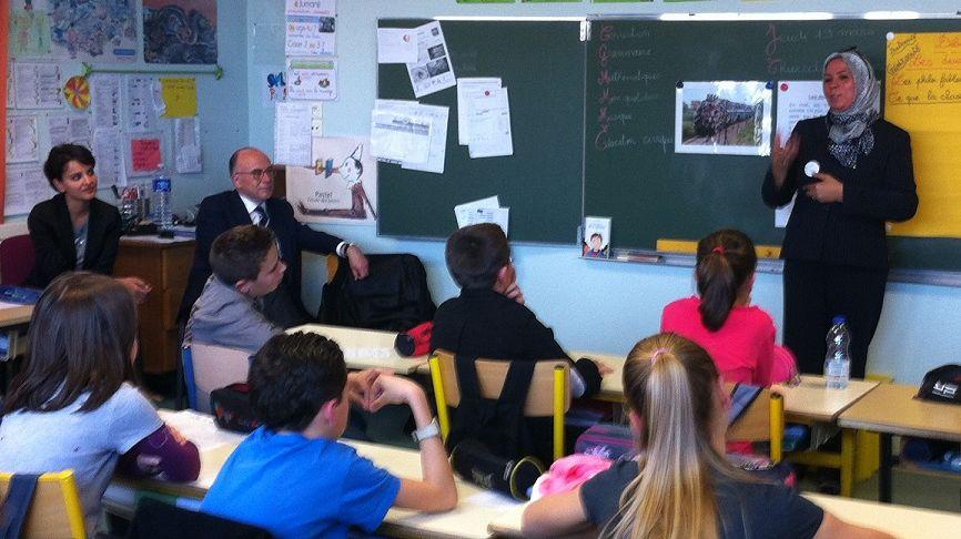 FBToulouse leçon d'instruction civique à l'école d Eaunes par Latifa Ibn Ziaten