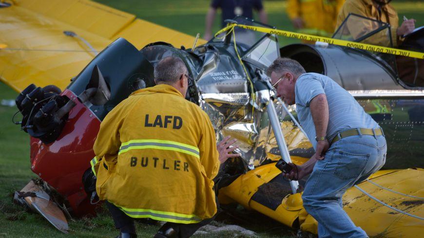 L'avion d'Harrison Ford s'est écrasé sur un terrain de golf