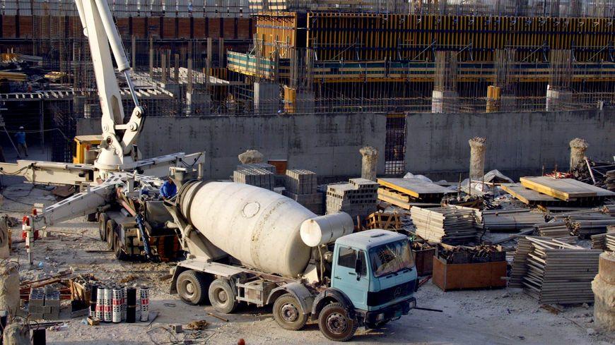 Un chantier à Doha - illustration