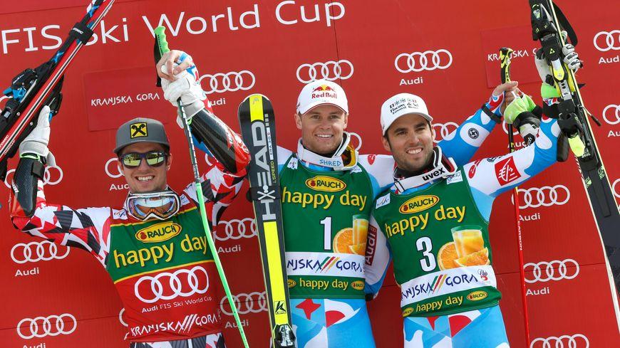 ski podium géant kranjska gora victoire pinturault