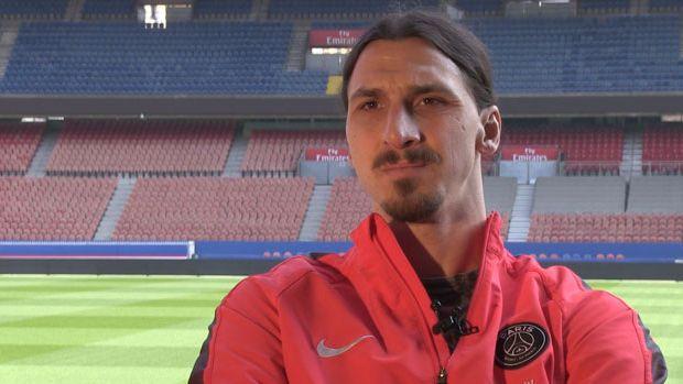 """Zlatan Ibrahimovic : """"Ne déformez pas, on parle de football, restons concentrés là-dessus."""""""