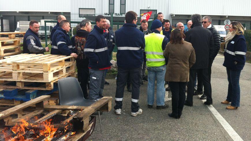 Les salariés de MoryGlobal occupent leur site à Bruguières près de Toulouse